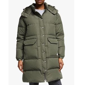 The North Face Sierra Down Parka Taupe Green NWT